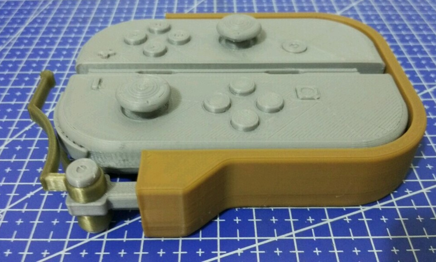 Capture d'écran 2017-04-28 à 17.21.30.png Download free STL file  One-hand adapter for Nintendo Switch's Joy-Cons • 3D printing design, Vexelius