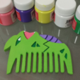 Free 3d printer designs Tyranitar Comb, Vexelius