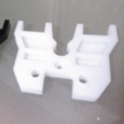 Capture d'écran 2016-11-29 à 09.50.20.png Download free STL file Wanhao Duplicator 4X - Top cover plate for MK9 extruder • Design to 3D print, Vexelius