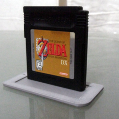Free stl files Game Boy cartridge stand, Vexelius