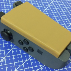 Capture d'écran 2017-12-06 à 17.16.43.png Download free STL file Single hand Joy-Con adapter (Right) • 3D printer object, Vexelius