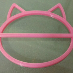 Download free 3D printer model Cat hair/bun Clip, Vexelius