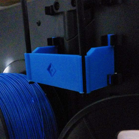 Download free 3D print files FlashForge Creator Pro 2016 - Filament tube holder, Vexelius