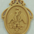 Free STL Medal for the typical costume of San Melchor Betaza, Vexelius