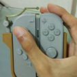 Free 3d printer designs  One-hand adapter for Nintendo Switch's Joy-Cons, Vexelius
