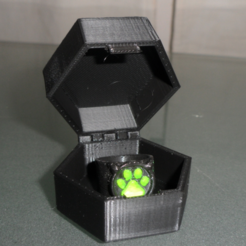 Download free 3D printing models Miraculous container box, Vexelius