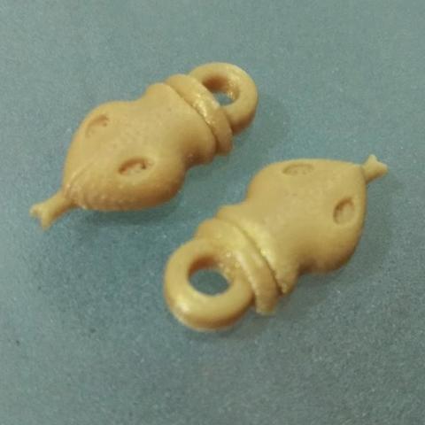 Download free 3D printing files Snake head ornament, Vexelius