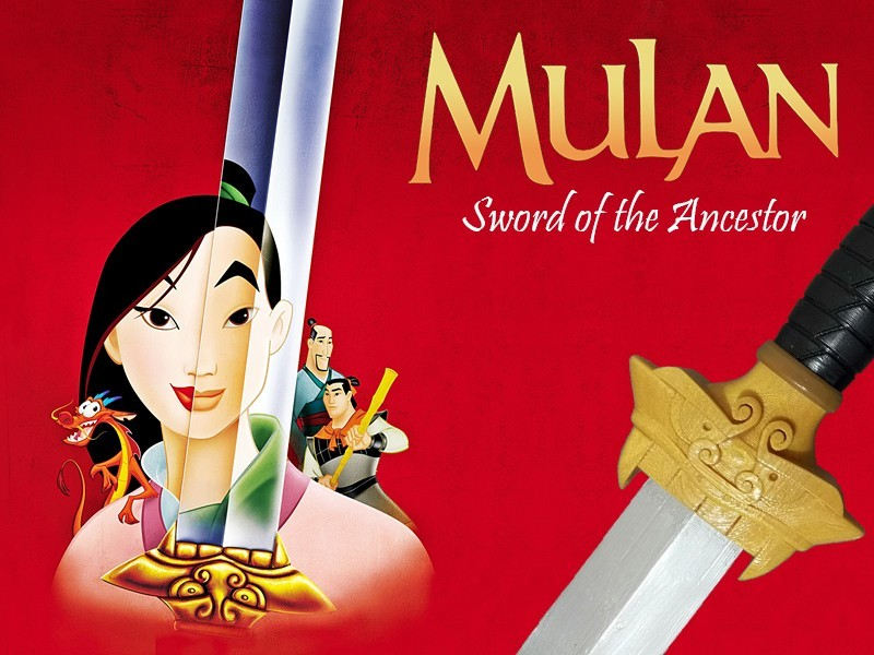 MulanPromo.jpg Download free STL file Mulan's Sword • 3D printing model, Vexelius