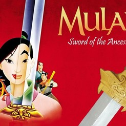 Download free STL file Mulan's Sword • 3D printing model, Vexelius