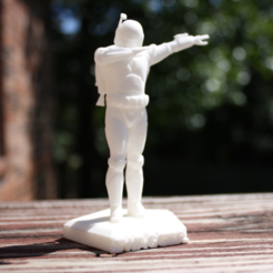 3D printing model Dabbing Starwars Figures, Savex