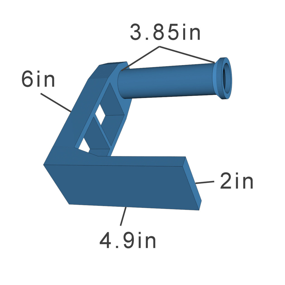 Capture d'écran 2017-03-07 à 09.52.23.png Download free STL file  Universal Top Spool Holder • Object to 3D print, 3DSage
