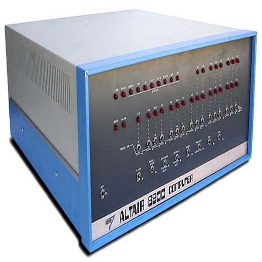 Altair_8800.jpg Télécharger fichier STL gratuit 1802 Carte de membre Altair 8800 étui pour carte de membre • Objet pour impression 3D, 3DSage