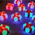 Download free 3D printing files Glowing Gift Box, 3DSage