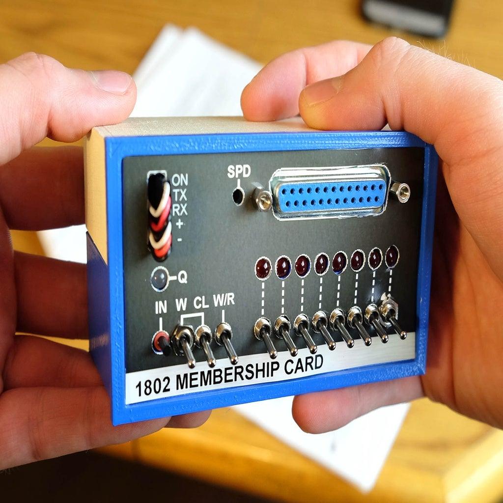 mc_1.jpg Télécharger fichier STL gratuit 1802 Carte de membre Altair 8800 étui pour carte de membre • Objet pour impression 3D, 3DSage