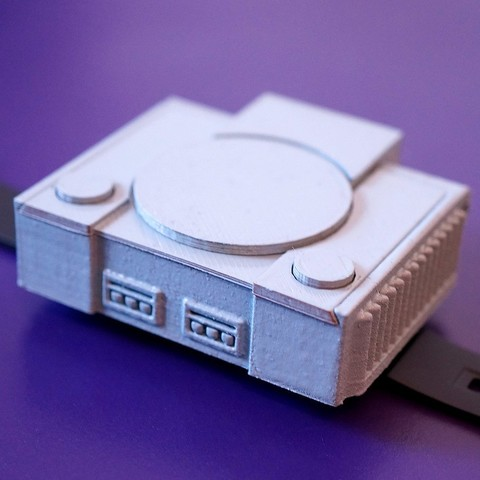 Download free 3D printing templates PlayStation Watch Cover