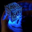 Download free STL file Alien Cube • Model to 3D print, 3DSage