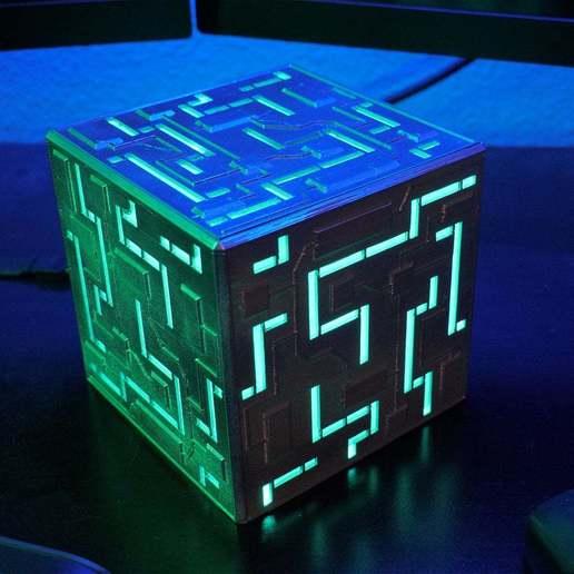 Download free STL file The Alien Cube • 3D print design, 3DSage
