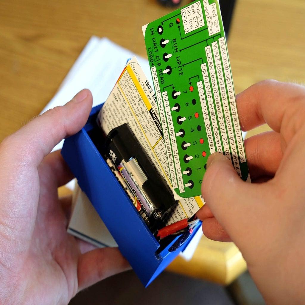 mc_4.jpg Télécharger fichier STL gratuit 1802 Carte de membre Altair 8800 étui pour carte de membre • Objet pour impression 3D, 3DSage