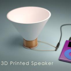 Free 3D model 3D Printed Speaker, 3DSage