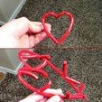 Download free 3D printer templates Valentine's Day | Optical Illusion Heart, 3DSage