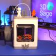 Download free STL file Cadet 3D Printer Spool Holder • Object to 3D print, 3DSage