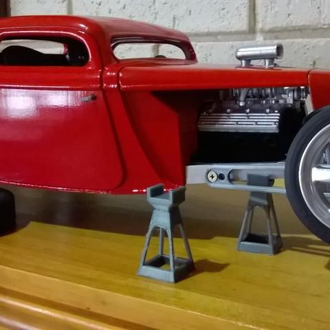 Télécharger fichier imprimante 3D gratuit Modèle de support de voiture, macone1
