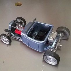 Download 3D printing files hot rod run about , macone1