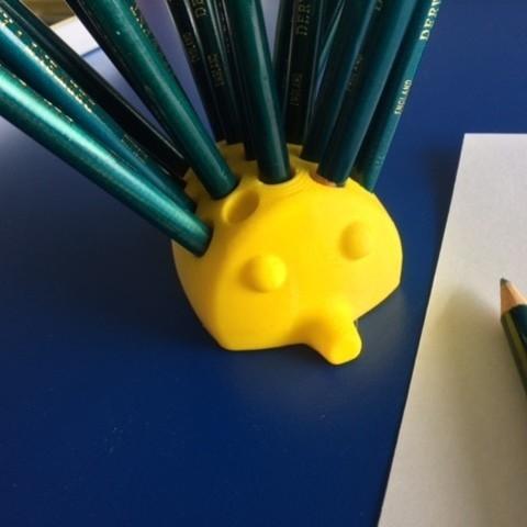 ech2.JPG Download free STL file Echidna Pencil holder • Design to 3D print, macone1