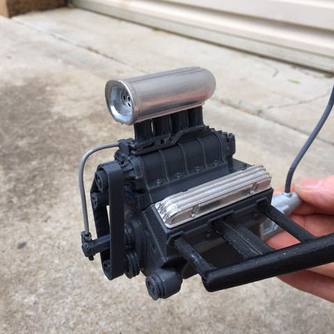 Download 3D printer designs Chevy Engine, macone1