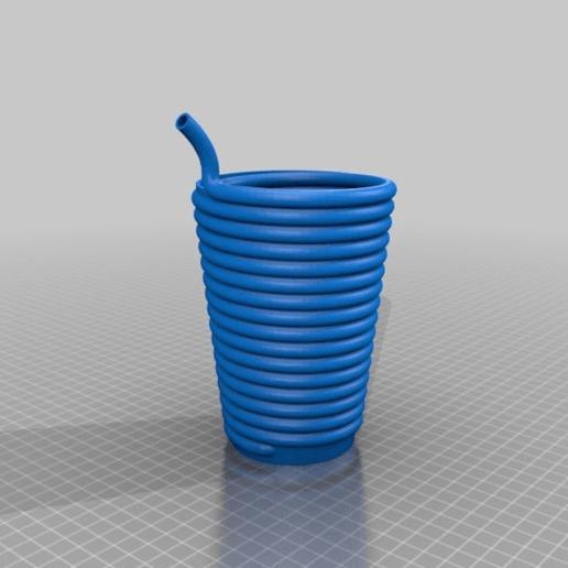 9ac11af4ed7dc61a98bede825a5b857d.png Download free STL file Big StrawGlass - Practical • 3D print design, bLiTzJoN