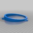 Download free STL file Front Door Speaker Brackets for Subaru • 3D printable design, bLiTzJoN