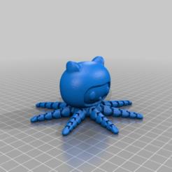 octocat-solid.png Télécharger fichier STL gratuit Octocat - Solid • Design pour imprimante 3D, bLiTzJoN