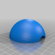Download free STL file Pokeball, with magnetic clasp (alternate) • 3D printable object, bLiTzJoN