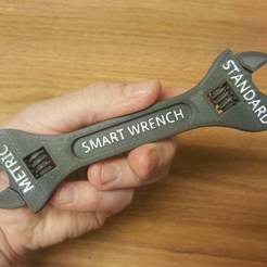 Download free STL file Fully assembled 3D printable SMART wrench • 3D printer design, bLiTzJoN