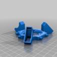 Download free STL file Rostock Max v2 Effector/Fan Shroud Combo Alt • 3D printing design, bLiTzJoN