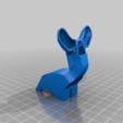 Download free STL file Fan Shroud 40mm x 20mm Blower Style  - Rostock Max • 3D printable design, bLiTzJoN
