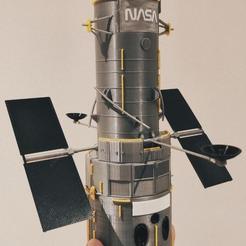 Download 3D printing files HUBBLE space telescope, YoSeba