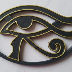 20200823_130758.jpg Download STL file Eye Horus • 3D printing template, Gaizka
