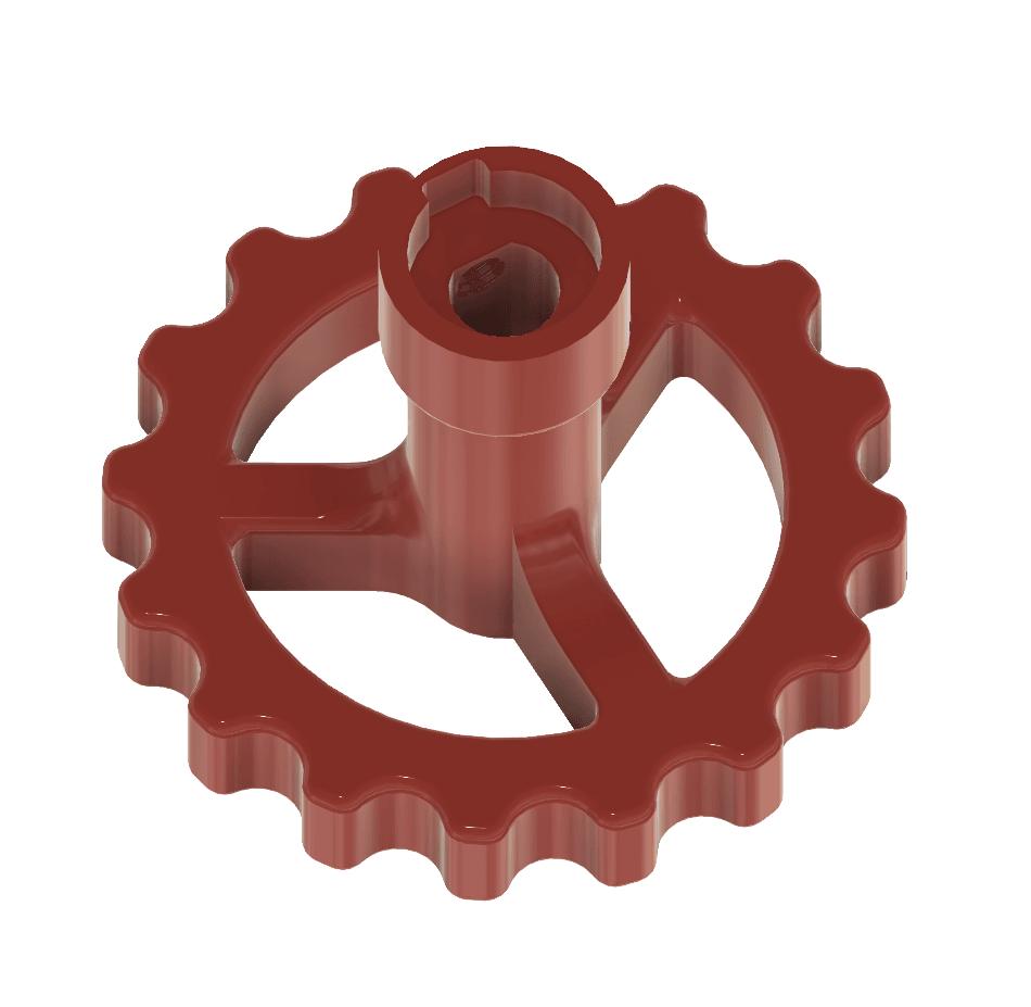 Alfawise U20 - Molette extrudeur 02.png Download free STL file Alfawise U20 - Extruder wheel • 3D printing template, CBA3D