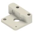 Alfawise U20 - Guide extrudeur 01.png Download free STL file Alfawise U20 extruder guide for flexible filament TPU/TPE • 3D print object, CBA3D