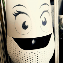 Fichier impression 3D Google Home with mouth, Nameho