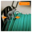 Download free 3D printer model Coil wire clip, CBA3D