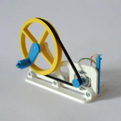 Download free STL file Mini Power Generator • 3D printer model, mschiller