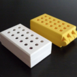 Download free 3D printing models Customizable Hinged Box With Latch, mschiller