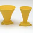 Free 3D model Hyperbolic Horn - parametrizable, mschiller