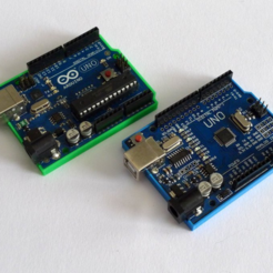 Free 3d printer designs Bumper for Arduino Uno Clone, mschiller