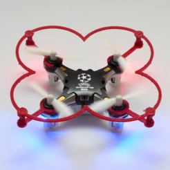 Download free 3D printer files Pocket Drone FQ777 Propeller Protection, mschiller