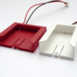 Free 3d printer designs Li-ion battery reuse - customizable adapter, mschiller