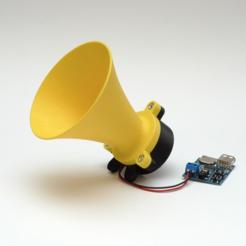 Télécharger plan imprimante 3D gatuit Corne hyperbolique - paramétrable, mschiller