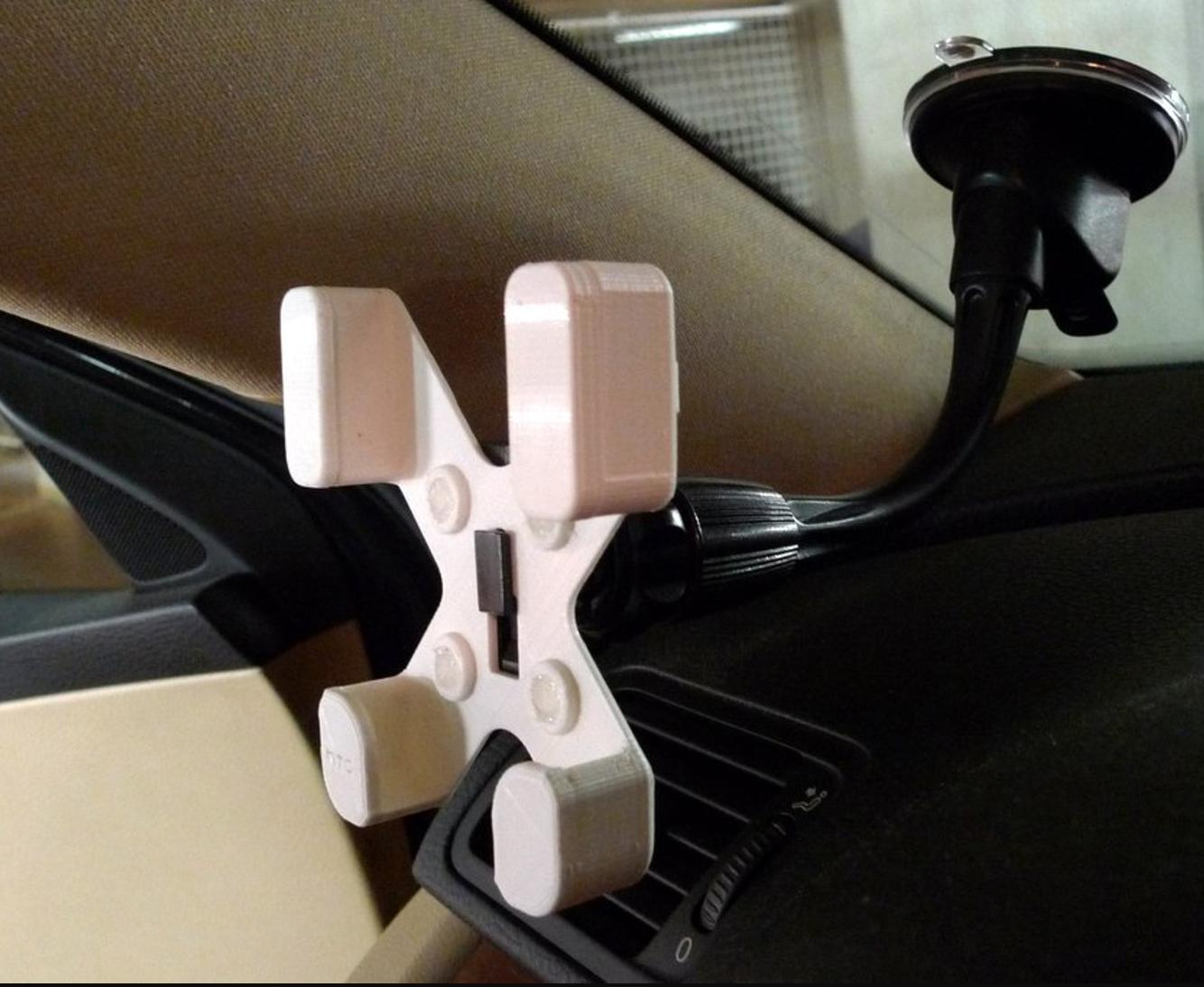Capture d'écran 2016-12-02 à 17.27.07.png Download free STL file  HTC Desire 500 car phone holder • Template to 3D print, mschiller